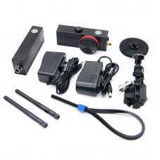 200m 2.4G Single Channel Wireless Follow Focus Remote Control Built-in Battery with limit for SLR Camera