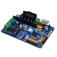 51duino Smart Car Robot Driver Board 51 Development Board for Motor Servo Sensor for Arduino