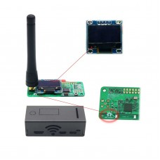 MMDVM Hotspot Module with OLED and Antenna Case Support P25 DMR YSF for Raspberry pi Walkie Talkie
