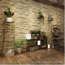 3D DIY Wallpaper Non-woven Brick TV Background Pattern Wall Paper Decor