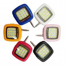 Mini Portable LED Lamp Camera Fill-in Flash Light for Cell Phone Tablet Selfie