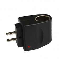 Wall Power 220V AC to 12V DC Car Charger Cigarette Lighter Socket Adapter