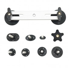 10pcs Super PDR Car Dent Repair Tools Aluminum Free Sheet Metal Repair Bridge Kit Tools