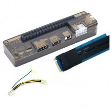 M.2 M Key External Graphics Dock 20Gbit/s for Computer Win7/10