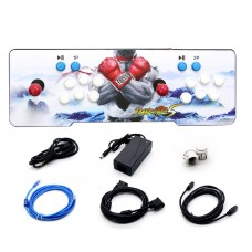 1314 In1 Pandora Box Double Stick Arcade Console Joystick Video Game HDMI Black & Red