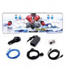 1314 In1 Pandora Box Double Stick Arcade Console Joystick Video Game HDMI Black & Red