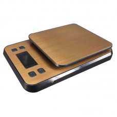 3kg/0.1g Digital Electronic Scale Kitchen Scale Stainless Steel Timing and Lock Function