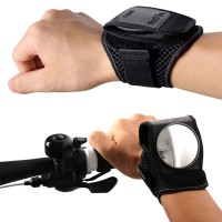 BackEye Bike Bicycle Wrist Band Reflex Rear View Mirror Bicycle Safe Accessories