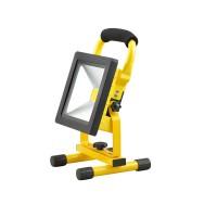 Portable Waterproof 4H LED 20W Rechargeable Flood Emergency Light Spot Lamp