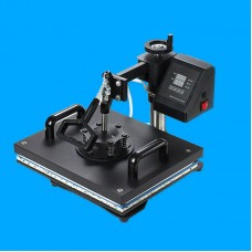 Shaking Heat Press Machine Thermal Transfer Printing Stamping for T-Shirts