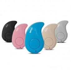 Ultra Mini Hidden Wireless Stereo Bluetooth Sport Earphone Hands-free W/Mic