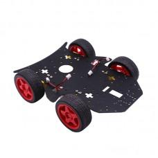 4WD RC Smart Car Chassis S3003 Metal Servo Bearing Kit for Arduino Metal Gear Motor DIY Kit Robot