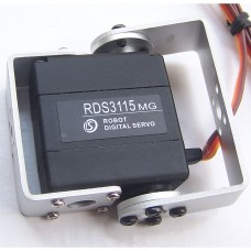 DS RDS3115MG 15KG Large Torque 180 Degree Biaxial Digital Servo for RC Robot