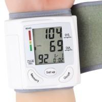 Home Health Care Worldwide Arm Meter Pulse Wrist Blood Pressure Monitor Sphygmomanometer Heart Beat Meter Machine