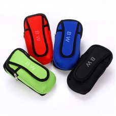 Sports Running Cell Phone Arm Package Pocket Bag Pouch Wrist Wallet