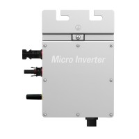 295W Grid Tie Micro Inverter MPPT Solar Power Pure Sine Wave Output with Communication Monitoring for 300Watt 36V Solar Home System