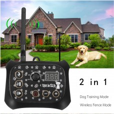 TF68 Waterproof Rechargeable Wireless Elecric Dog Fence Trainer Fencing Training System