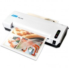 DSB A4 Photo Hot Cold Thermal Laminating Machine Laminator Pouch Sheets Warms Up