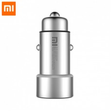 Original Xiaomi Fast Charging Car Charger with Dual USB Ports 12-24V Input