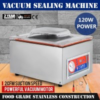 110V/220V Automatic Vacuum Sealer Food Vacuum Sealing Food Pack Machine DZ-260C