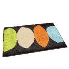 Cartoon Flocking Mat Lemon Printed Home Hallway Living Room Rug Carpet Thick Non Slip Absorbent Bathroom Floor Mats
