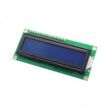 LCD 1602A Blue Screen and White Character 5V LCD Display for Arduino