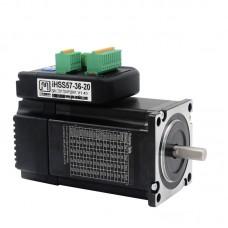 Integrated 57 Loop Stepper Servo Motor Driver 2NM IHSS57-36-20 36V