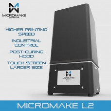 Micromake L2 UV Resin 3D Printer SLA/DLP 3D Printer with Touch Screen LCD Light Curing High Accuracy