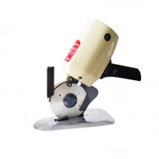 Electric Round Knife Cutting Machine Clothing Scissors Leather Cloth Paper Hand Held Cloth Cutting Machine 220V