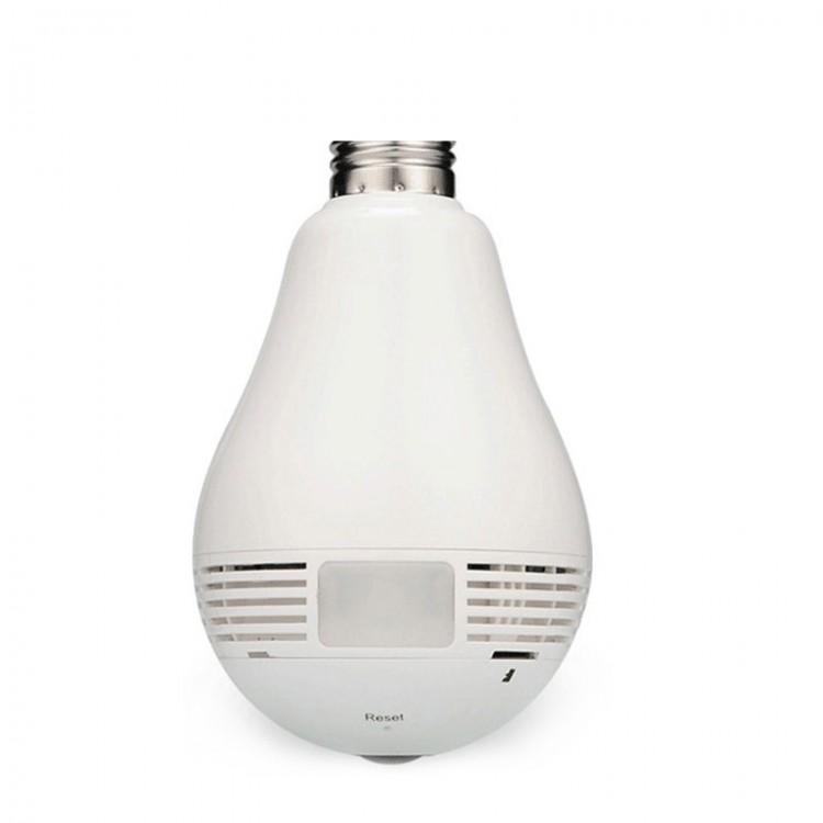 360 Degree 960P HD WIFI Panoramic View Smart Light Bulb 1 3MP Camera