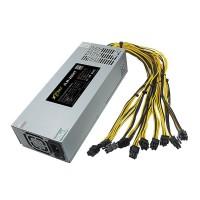 1800W 93% ATX ETH Mining Machine Power Supply For Bitcoin Miner