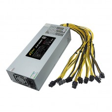 1800W Power Supply Antminer Stable Performance AC230 Mining Machine Power Supply Suitable For Antminer S9/S7/A4+