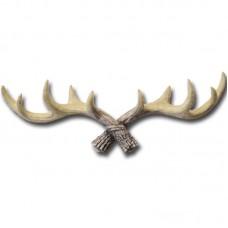 Retro Animal Deer Antlers Decorative Wall Hook Coat Hat Key Hanging Rack