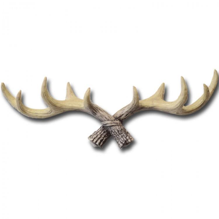 Retro Animal Deer Antlers Decorative Wall Hook Coat Hat Key Hanging ...