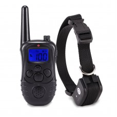 New Petrainer Waterproof Rechargeable Electric Remote Control Dog Training Collar