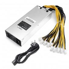 1800W 93% ATX ETH Mining Machine Power Supply For Bitcoin Miner Antminer S7 S9