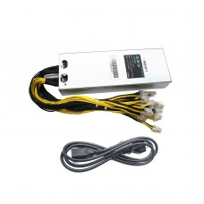 176V to 264V AntMiner APW3 1600W Mining Machine Power Supply For Bitcoin Miner Antminer S7 S9