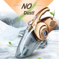 4 in 1 Multi Function 96W Wet And Dry Dual Use Car Vacuum Cleaner Tire Inflator Pump Auto Air Compressor with LED Light
