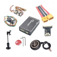 CUAV Pixhack V3 Flight Controller PIX Open Source + M8N GPS for FPV Drone Quadcopter Helicopter