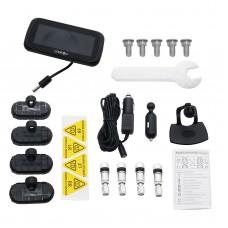 CAREUD U903 Tire Pressure Monitor System Vehicle Battery Power Monitoring Inner Sensors