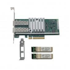Intel BNT10G42BF X520-SR2 DA2 Network Card with 2PCS Original Module 703