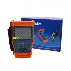 "CCTV Tester Pro 893 3.5"" LCD Tester Monitor CCTV Camera Video PTZ RS485 UTP Tester UTP Multimeter"