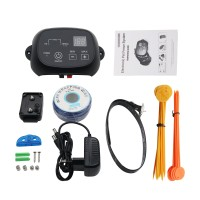 KD660 Waterproof Rechargeable Pet Electronic Fence Fencing System Dog Shock Collars