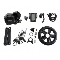 48V 500W Bicycle Motor Conversion Kit Mid-Drive with Integrated Controller & C965 LCD Display