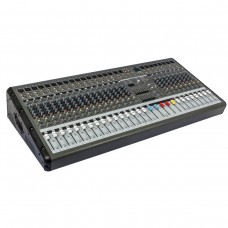 PMR2460 24 Channel 7 Band Bluetooth Professional Powered Mixer Power Stage Mixing Amplifier Amp