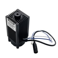 Focusable 445nm/450nm 4000mW/4W Blue Laser Module TTL 12V DIY CNC Engraving