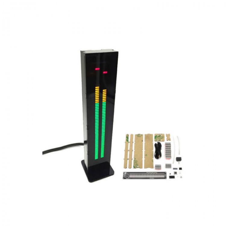 AS30 30 Segment Stereo Music Spektrum analysator LED Level Display Kits VU Meter