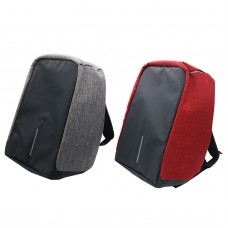 Anti Theft USB Backpack Security Travel Bag Nylon Computer Backpack