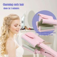 Automatic Ceramic Hair Curler 3 Barrels Big Waver Curling Iron Hair Curlers Styling Tools