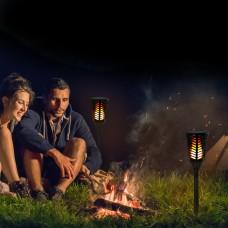 96 LED Solar Power Path Torch Light Dancing Flame Lighting Flickering Lamp Garden Outdoor